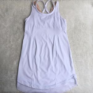 Ivivva by Lululemon Girls White Tank Top Size 10
